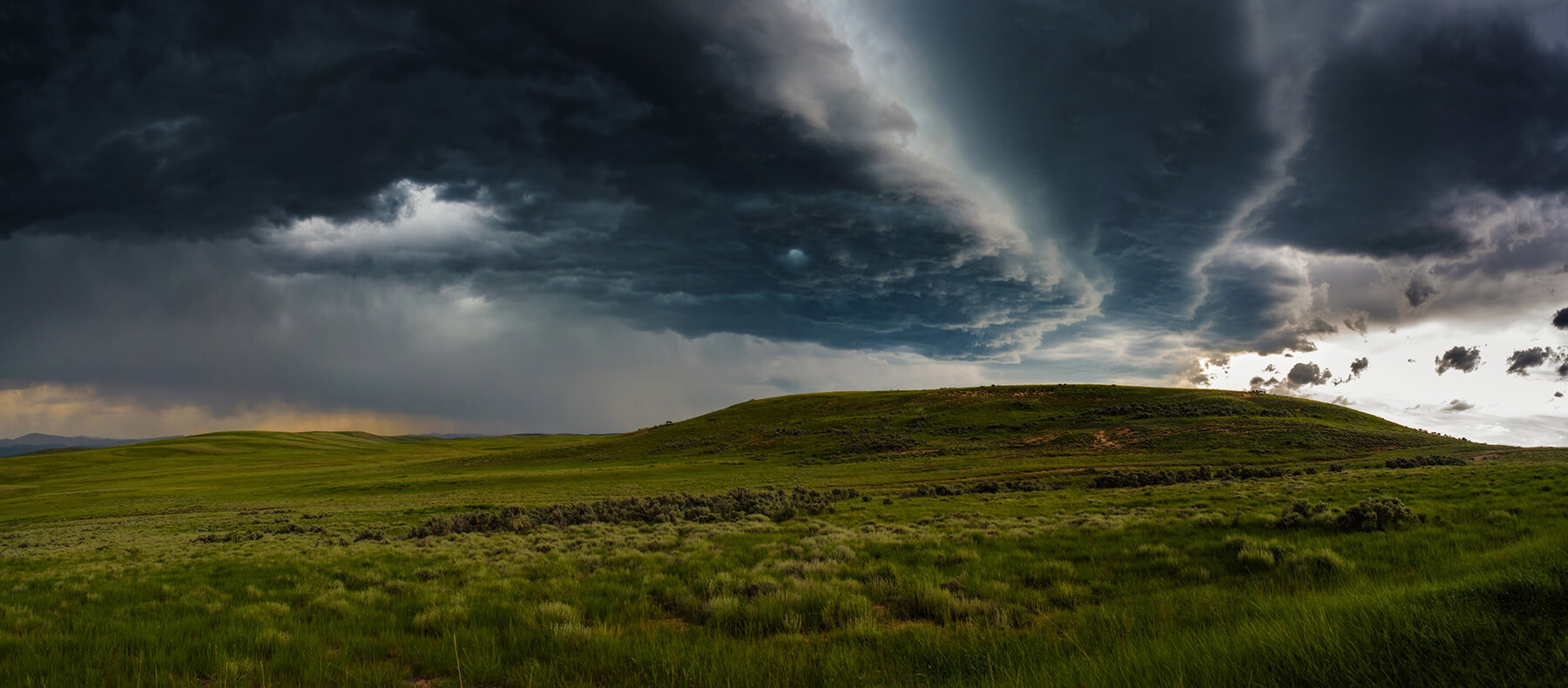 Highland Storm - 5.25 x 12 lustre print by Tanner Young