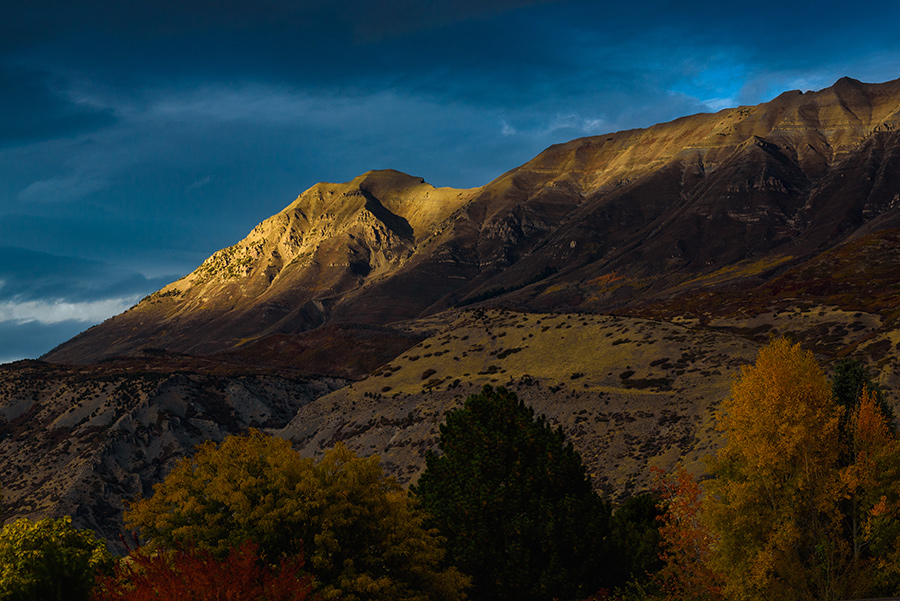 Light Above the Valley - 20 x 30 lustre print by Tanner Young