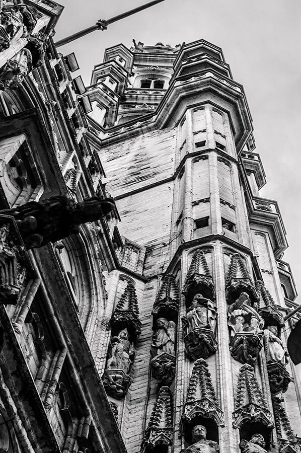 Grand Place Tower - 20 x 30 giclée on canvas (unmounted) by Tanner Young