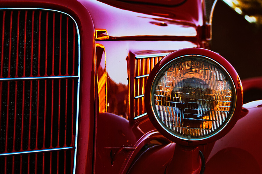 Antique Ford - 20 x 30 giclée on canvas (unmounted) by Tanner Young