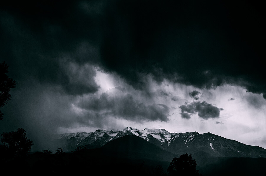 Beneath the Storm - 20 x 30 lustre print by Tanner Young