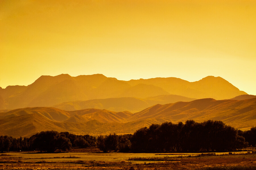 Peaceful Farmland - 20 x 30 giclée on canvas (unmounted) by Tanner Young