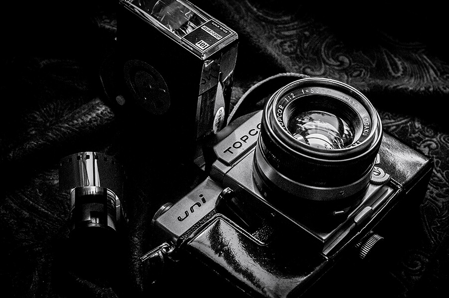 Vintage Camera - 16 x 24 lustre print by Tanner Young