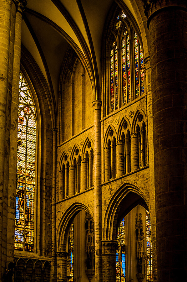 Cathedral Light - 20 x 30 lustre print by Tanner Young