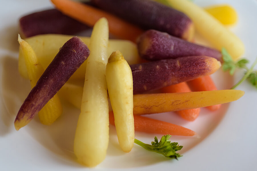 Baby Carrots - 20 x 30 giclée on canvas (unmounted) by Tanner Young