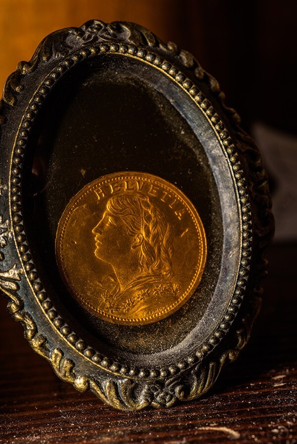 Antique Coin - 30 x 40 lustre print by Tanner Young