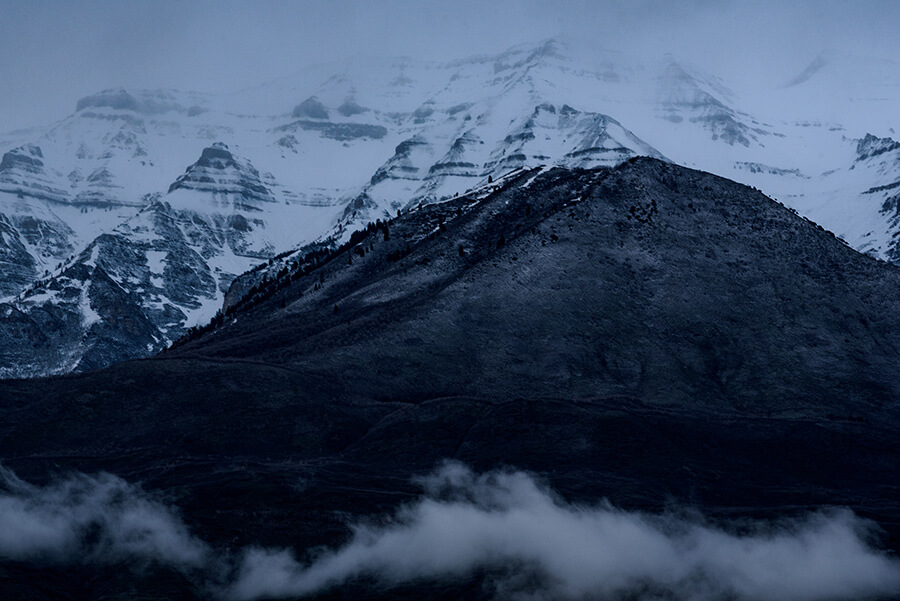 Cold Mountain - 30 x 40 lustre print by Tanner Young
