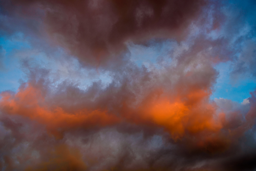 Cloudscape - 24 x 36 giclée on canvas (unmounted) by Tanner Young