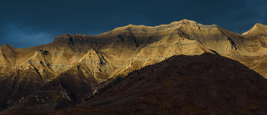 End of Autumn - 40 x 93 giclée on canvas (unmounted) by Tanner Young