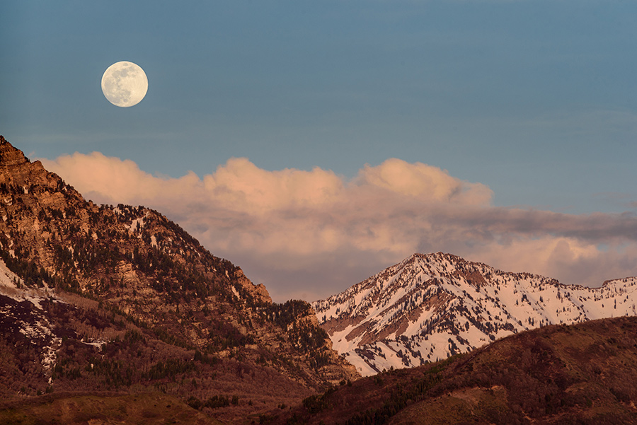 Rise of the Corn-planting Moon, I - 40 x 60 lustre print by Tanner Young