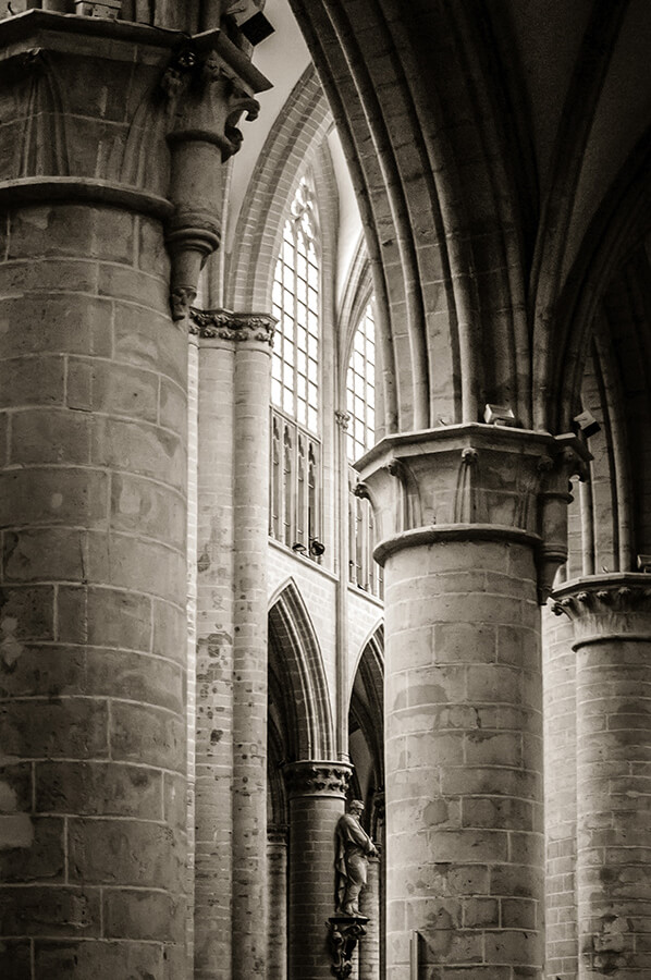Cathedral Aisle - 20 x 30 lustre print by Tanner Young