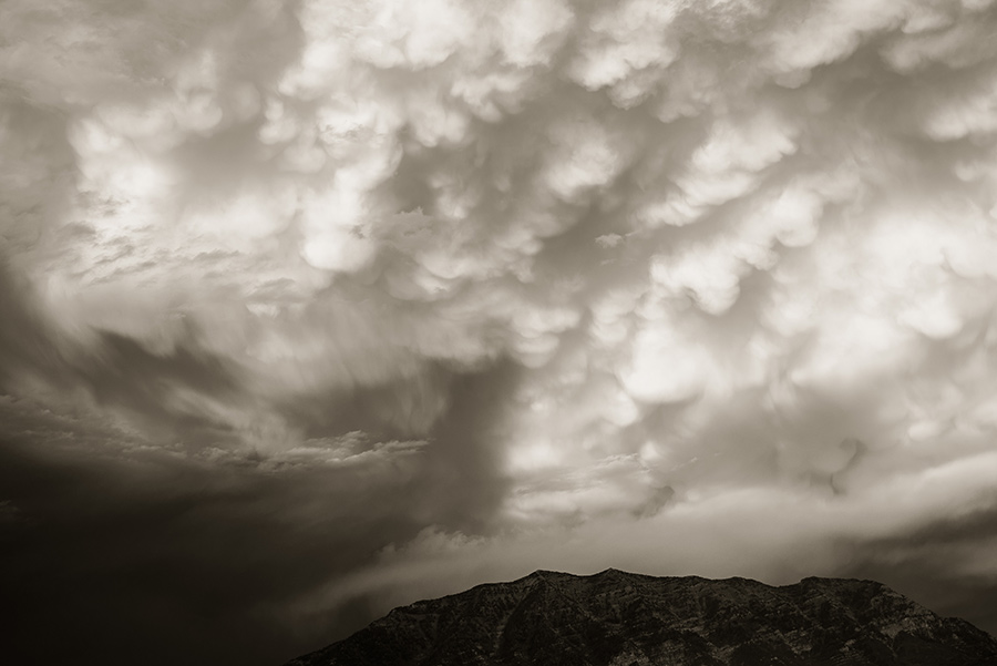 Mammatus Clouds, V - 16 x 24 lustre print by Tanner Young