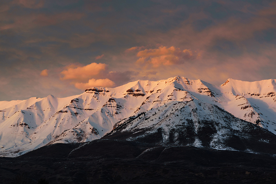 Mountain Evening - 20 x 30 giclée on canvas (unmounted) by Tanner Young