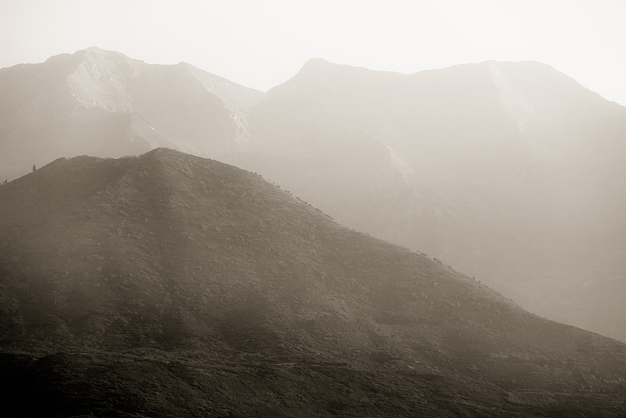 Mountain Haze - 20 x 30 giclée on canvas (unmounted) by Tanner Young