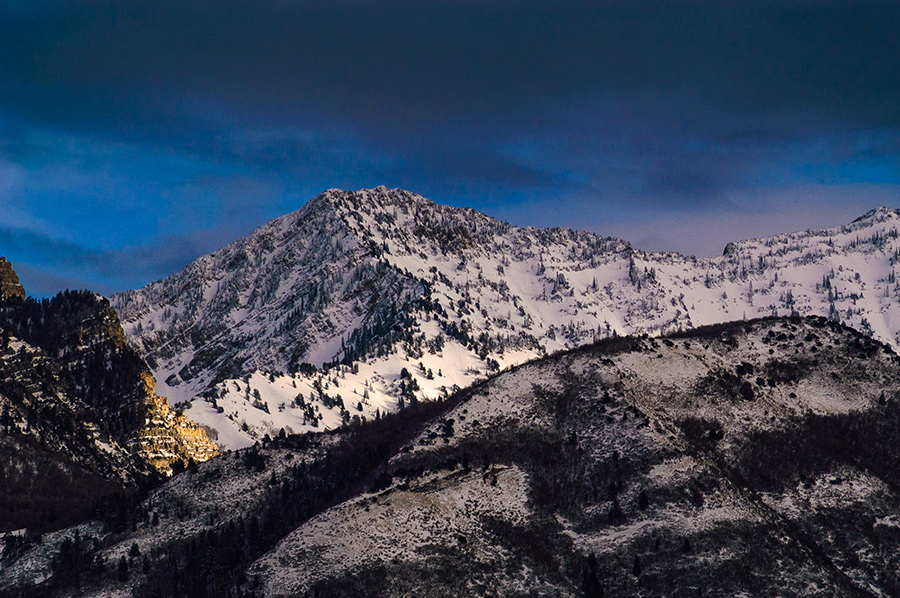 Early Alpine Snows - 20 x 30 lustre print by Tanner Young