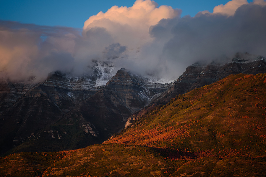 Mountain Serenity - 20 x 30 giclée on canvas (unmounted) by Tanner Young