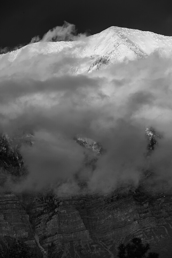 Brilliant Snows, III - 30 x 40 lustre print by Tanner Young