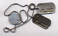 Alfred R. Young WWII Dog tags