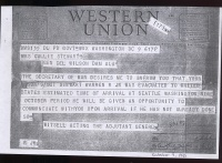Telegram - 5 October 1945