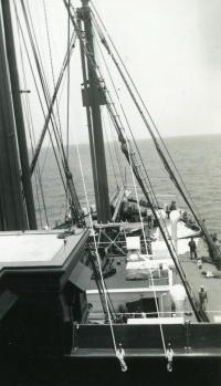 Bow of the USAT U.S. Grant