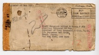 Letter - June 1943 - Envelope Only