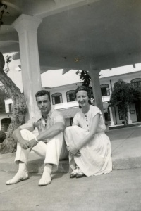 Ted and Mimi Fisch in Baguio
