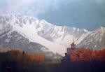 Den Kommende Vinteren - Original oil painting