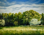 Green And Pleasant Land - Original oil painting