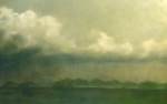 Spring Rain - Original oil painting