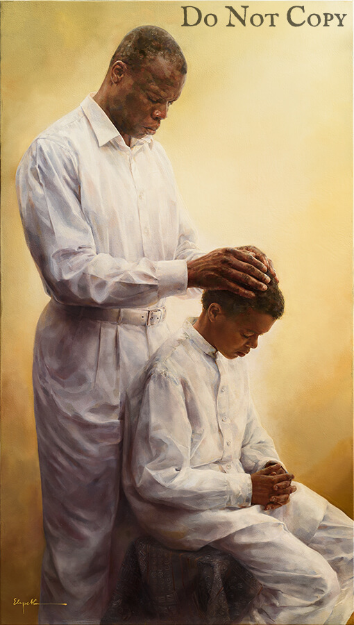 The Blessings Of The Fathers by Elspeth Young