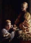 The Trial Of Faith - Original oil painting