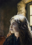 I Say Unto Thee, Arise - Original oil painting