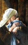 Is Anything Too Hard For The Lord - Original oil painting