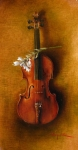 I Always Wanted To Own A Strad - Original oil painting
