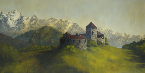 Enchanted Stillness - Original oil painting by Al Young