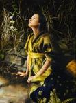 God Liveth And Seeth Me - Original oil painting