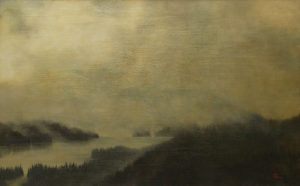 North Country - Original oil painting by Al Young
