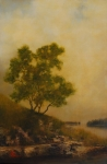 Old Shannon - Original oil painting