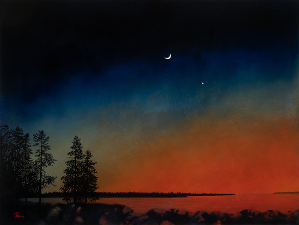 A Very Ancient Song - Original oil painting by Al Young