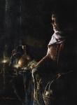 A Lamp Unto My Feet - Original oil painting