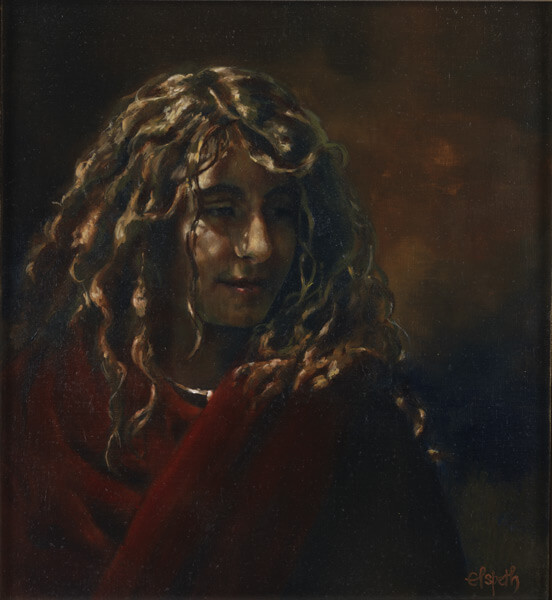 Blessed - Original oil painting by Elspeth Young