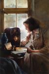 Brightness Of Hope - Original oil painting