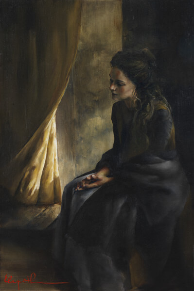 What Is To Be Done For Thee - Original oil painting by Elspeth Young