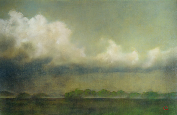 Spring Rain - Original oil painting by Al Young