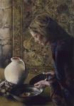 Charity Never Faileth - Original oil painting