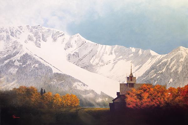 Den Kommende Vinteren - Original oil painting by Al Young