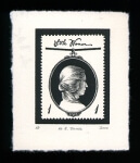 Louisa May Alcott 1 - Limited Edition Lithography Print