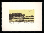 Murmuring Lake - Limited Edition Lithography Print