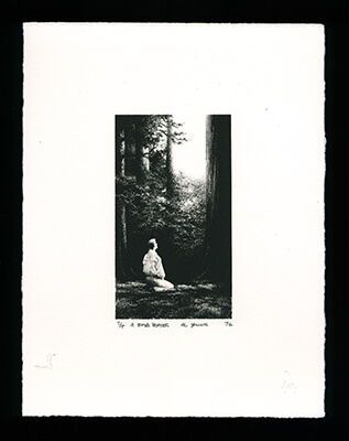 A Boy's Prayer - Limited Edition Lithography Print by Al Young