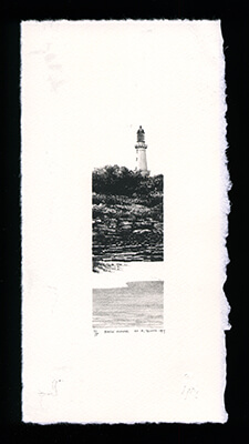 Back Shore - Limited Edition Lithography Print by Al Young
